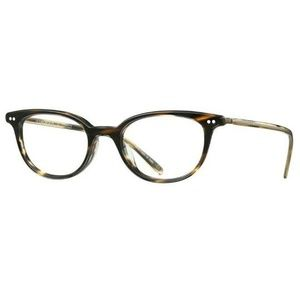 Oliver Peoples Cat Eye Style Cocobolo W/Demo Lens